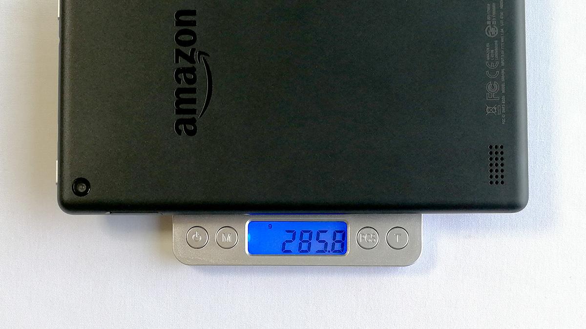 Fire 7 重量