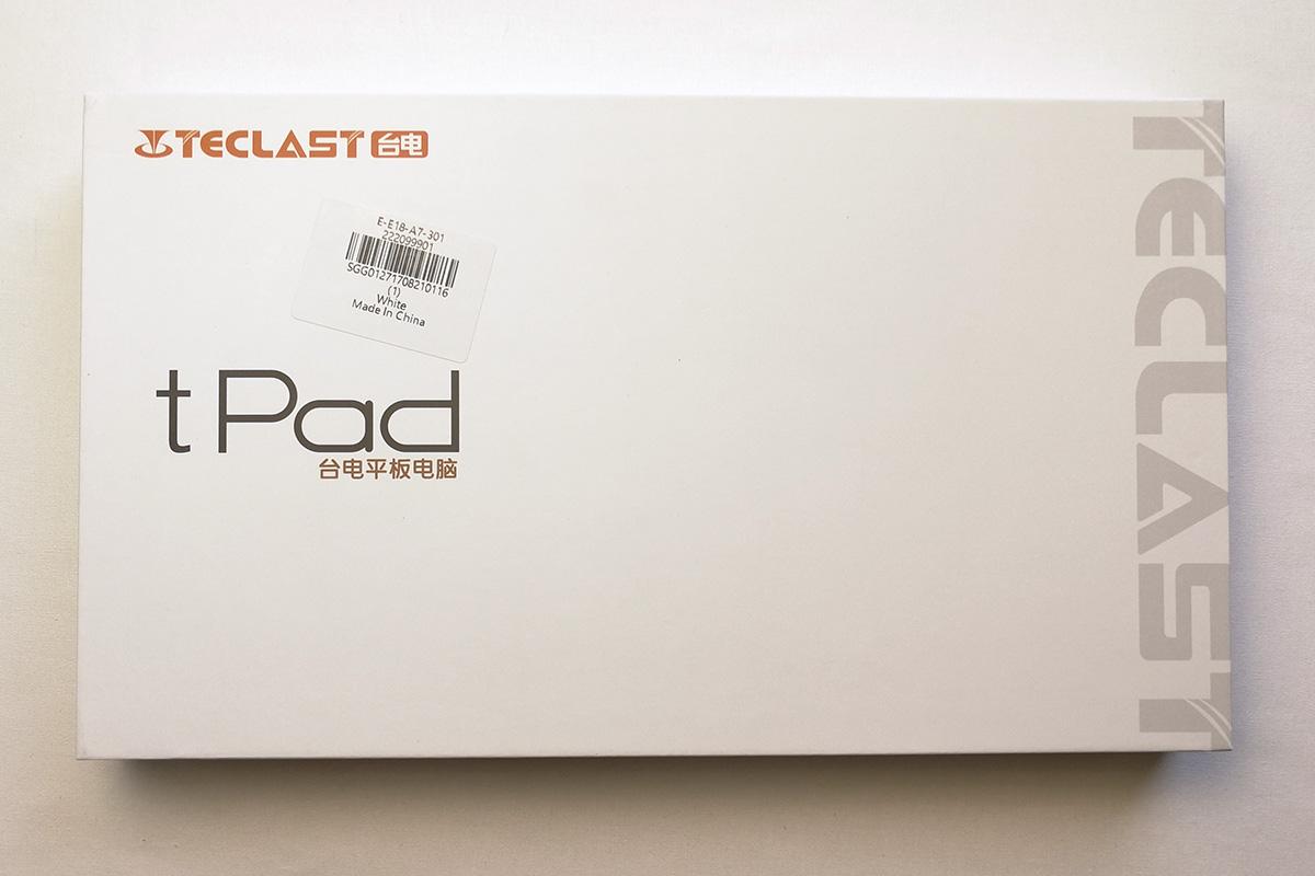 Teclast P10 パッケージ