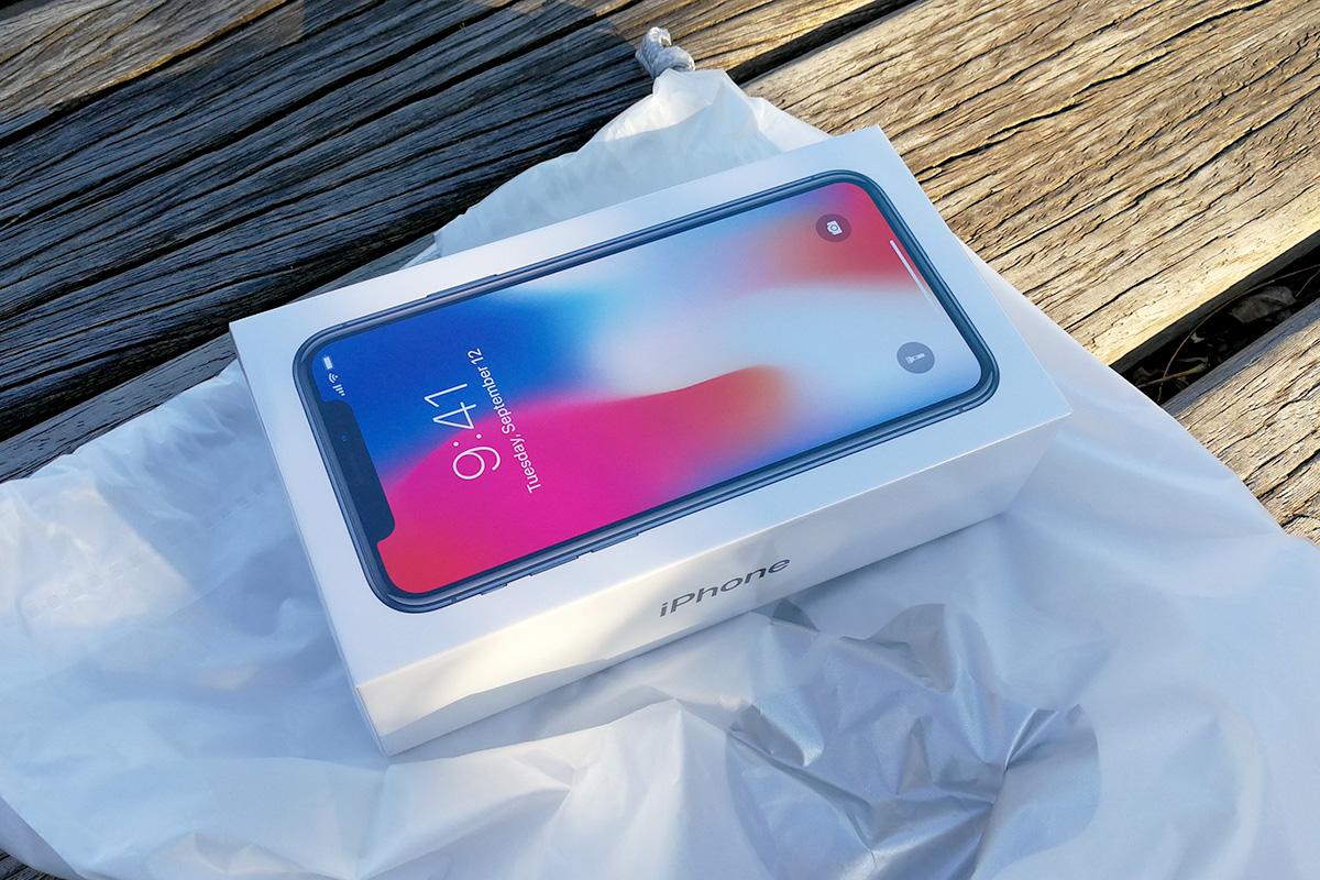 iPhone X パッケージ