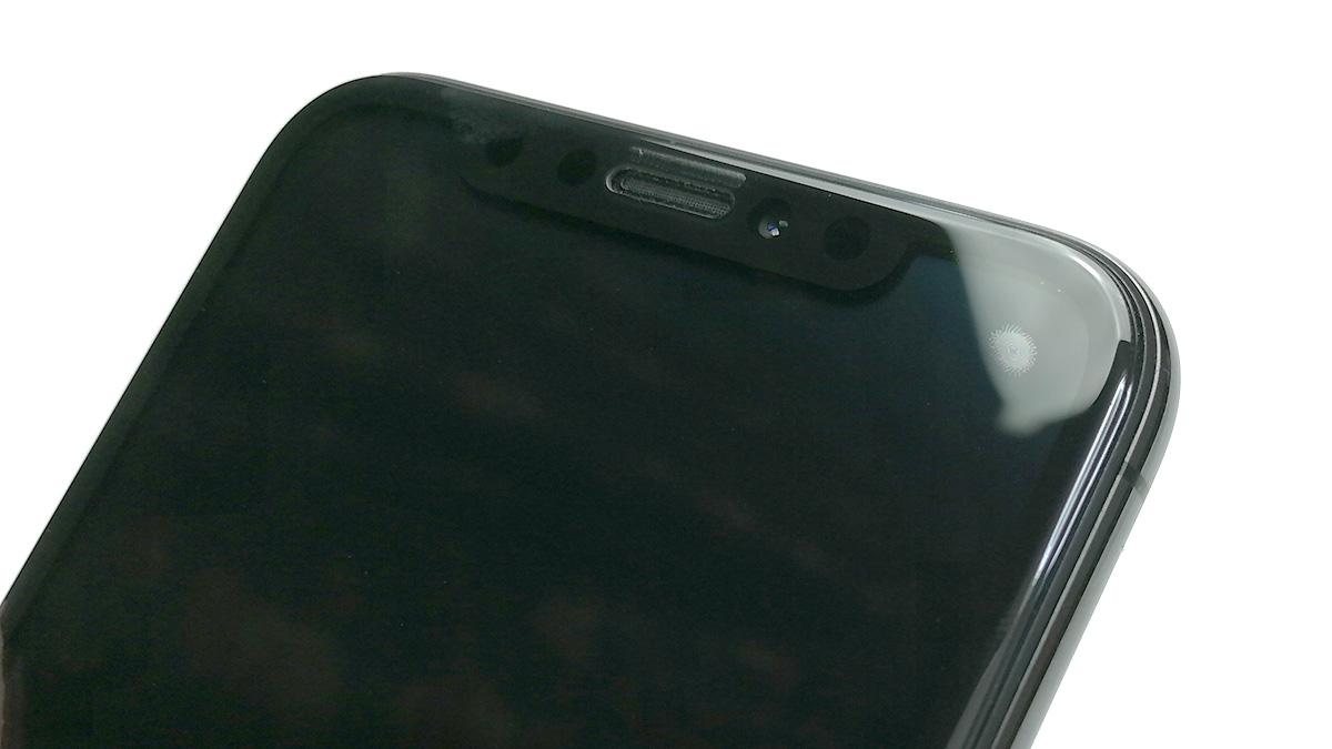 AOOCO iPhone X用 強化ガラス 気泡