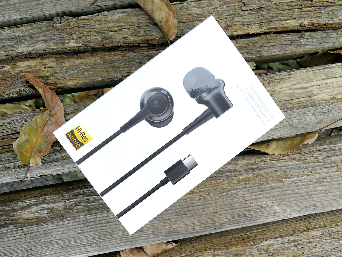 Mi ANC & Type-C in-Ear Earphones パッケージ