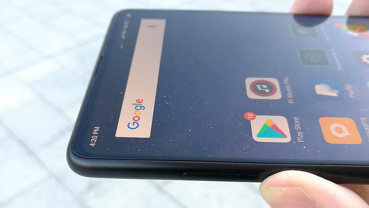 Xiaomi Mi MIX 2 フレームとエッジ
