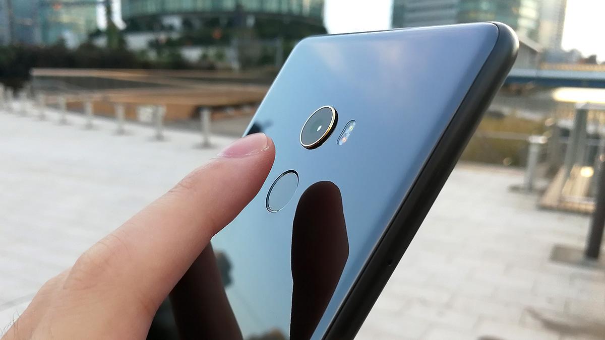 Xiaomi Mi MIX 2 指紋認証センサー