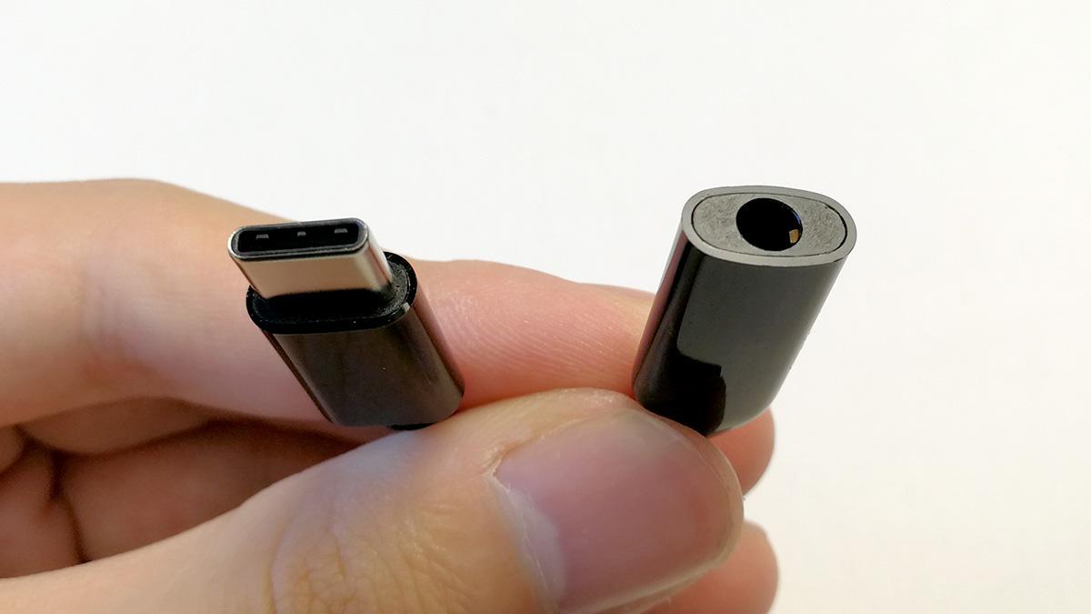 Xiaomi Mi MIX 2 USB-C to 3.5オーディオジャック アダプタ