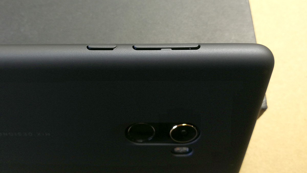 Xiaomi Mi MIX 2 USB-C to 3.5オーディオジャック 専用ケース