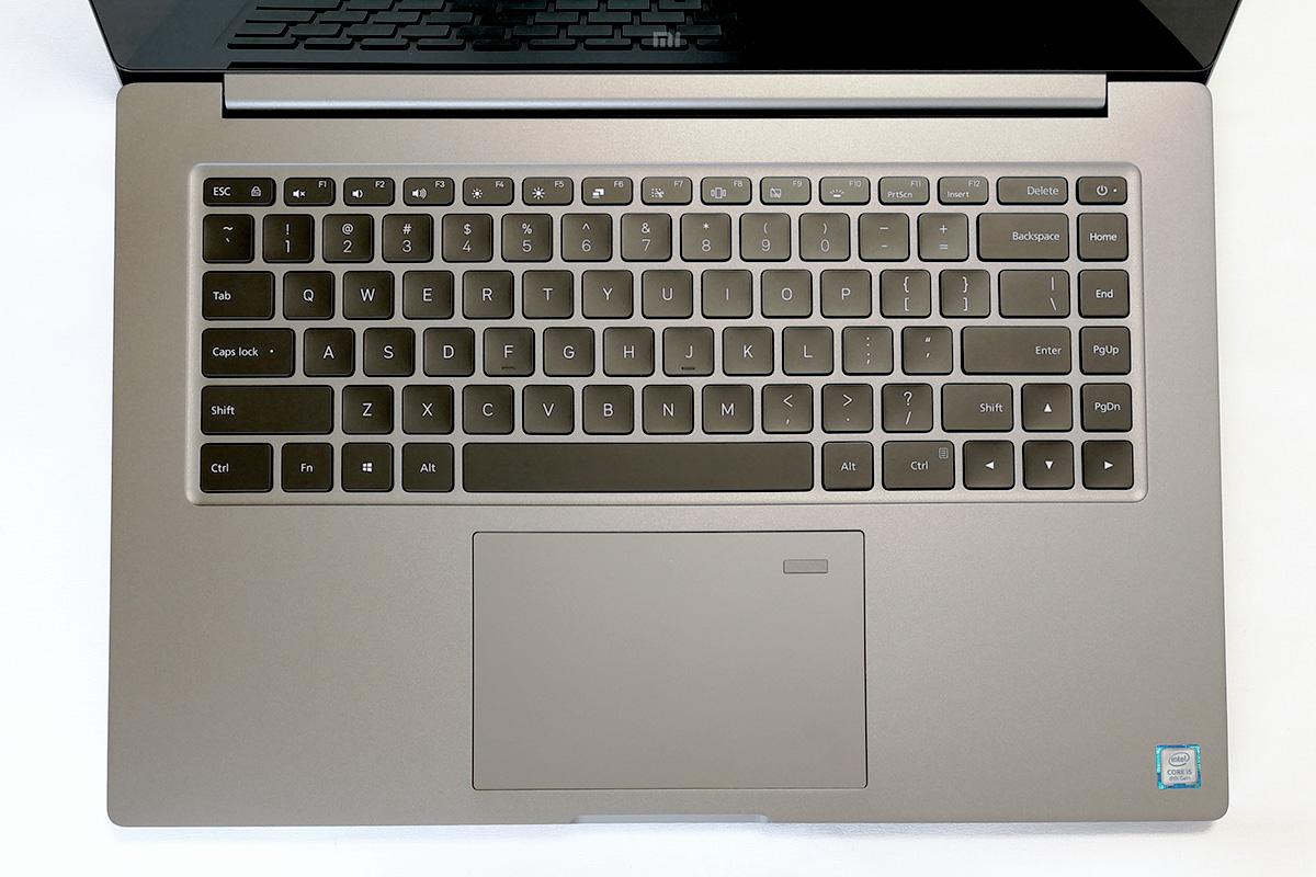 Xiaomi Mi Notebook Pro キーボード