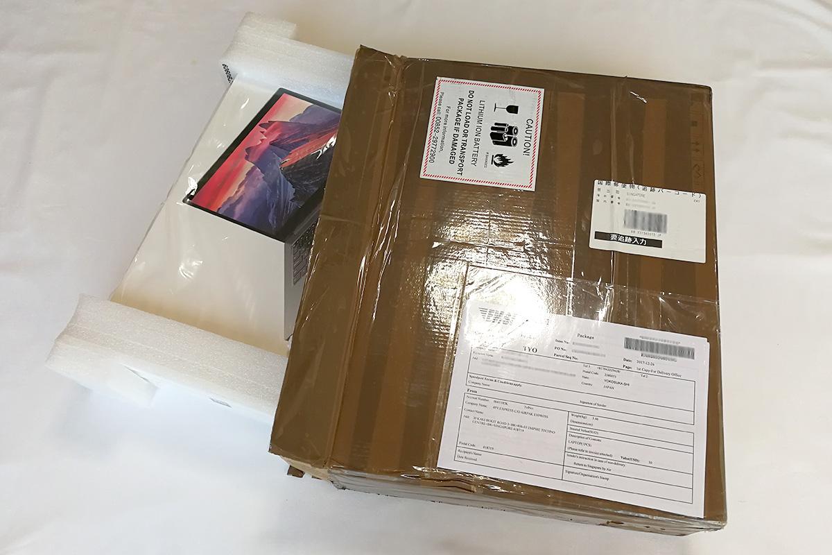 Xiaomi Mi Notebook Pro 箱