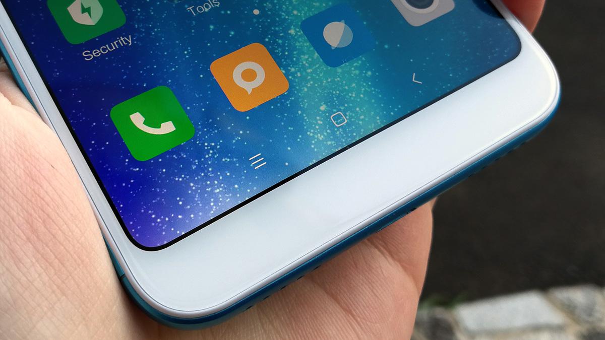 Xiaomi Redmi 5 Plus オンスクリーンキー