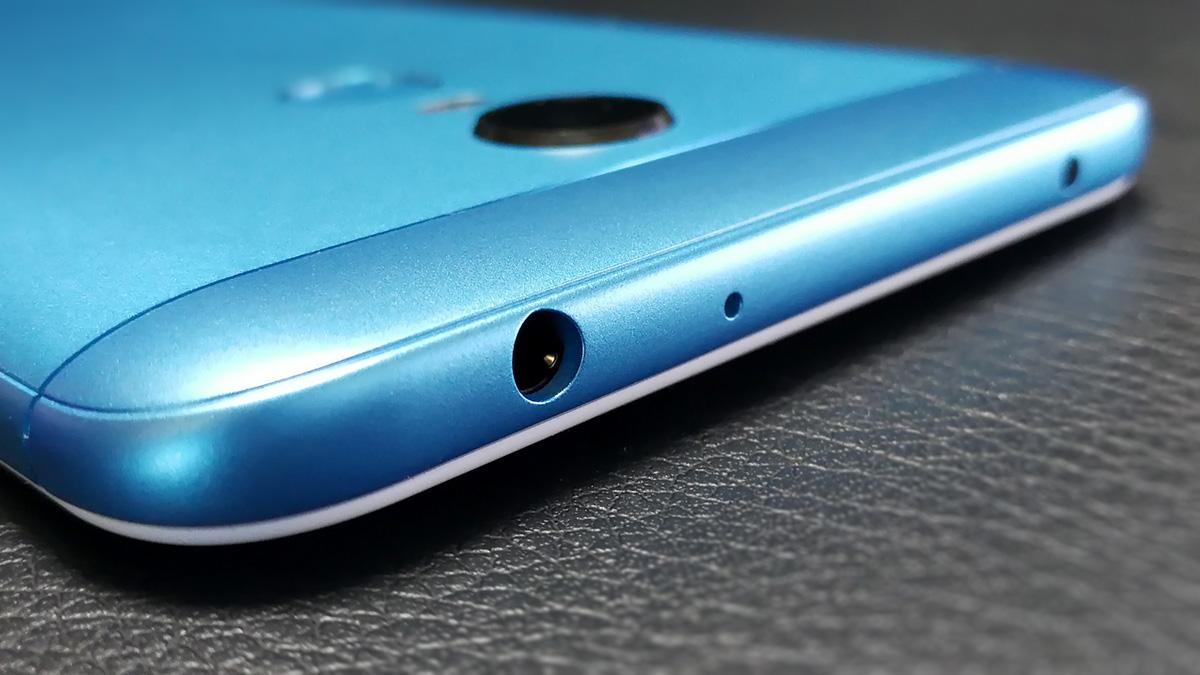 Xiaomi Redmi 5 Plus イヤホンジャック