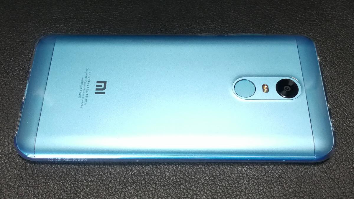 Xiaomi Redmi 5 Plus 背面保護ケース