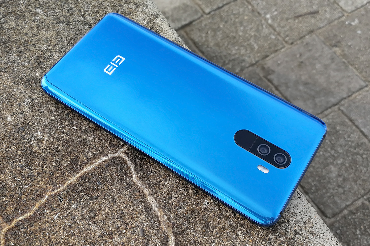 Elephone U Pro 背面