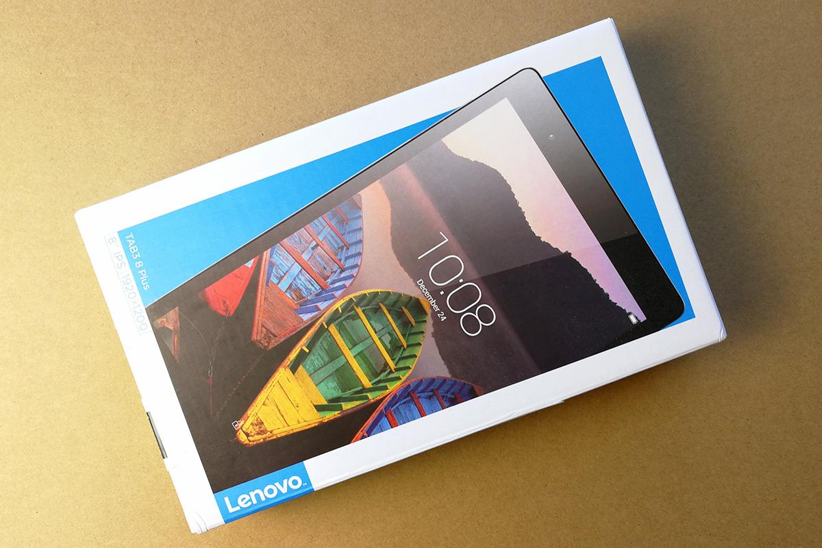 Lenovo P8(Tab3 8 Plus) パッケージ