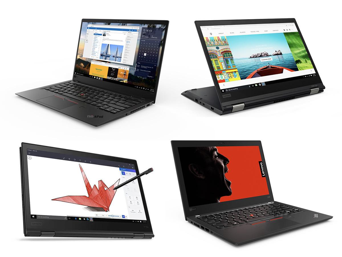ThinkPad X四天王Carbon 2018、Yoga 2018、X280、X380 Yogaを比較