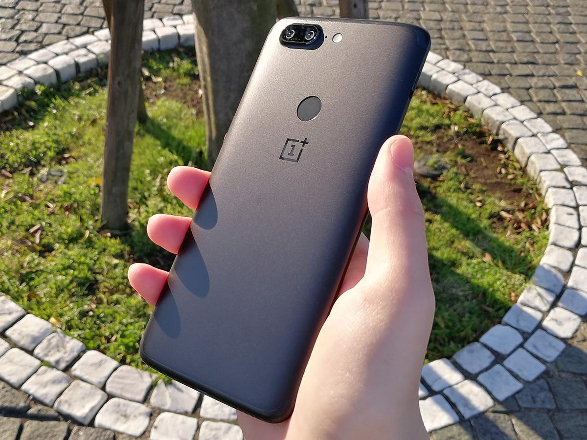 OnePlus 5T 背面