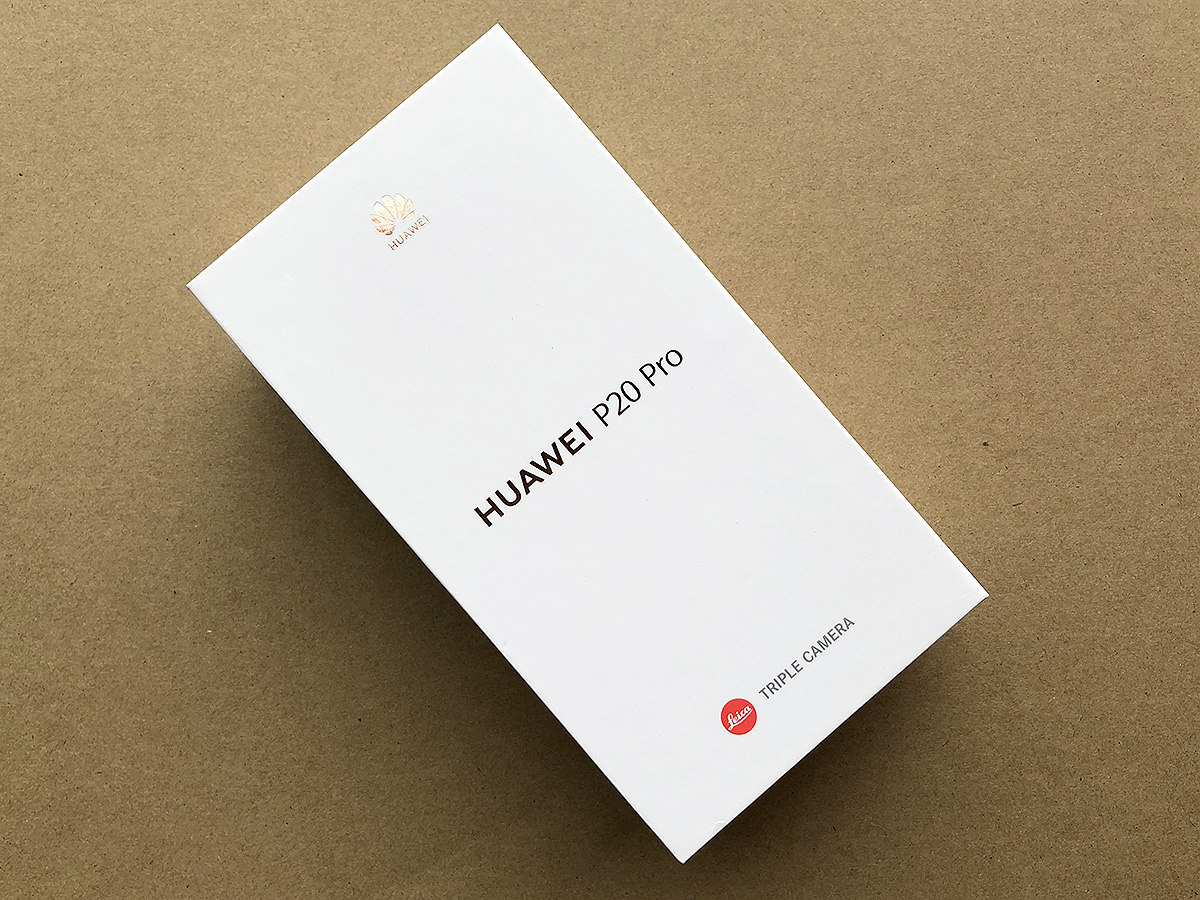 Huawei P20 Pro パッケージ