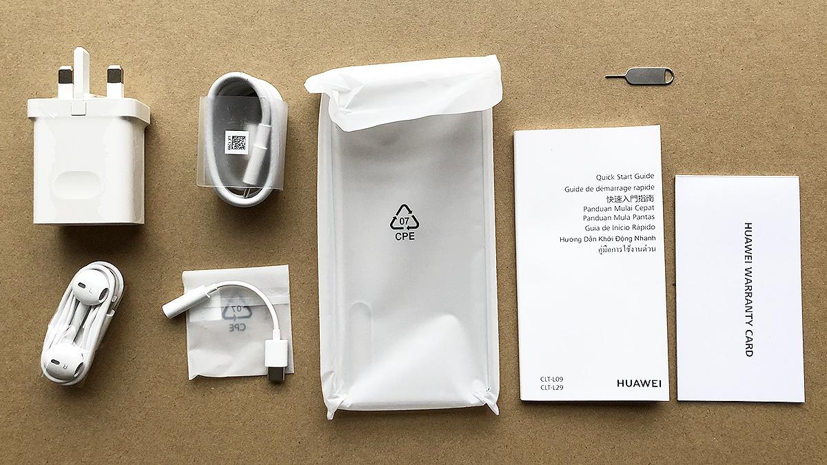 Huawei P20 Pro 付属品