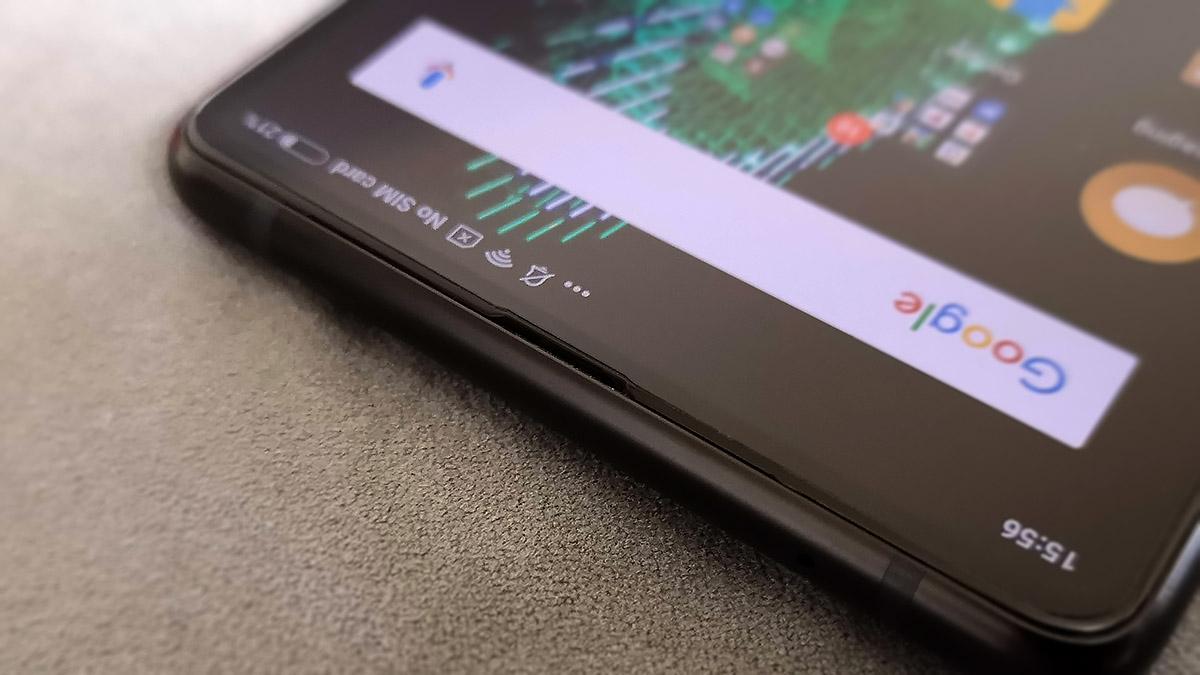 Xiaomi Mi MIX 2S 画面上部の受話口