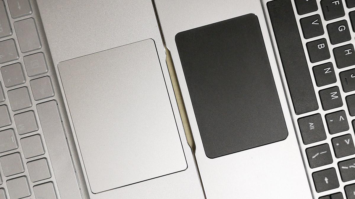 Jumper EzBook X4とEzBook 3 Proのトラックパッド