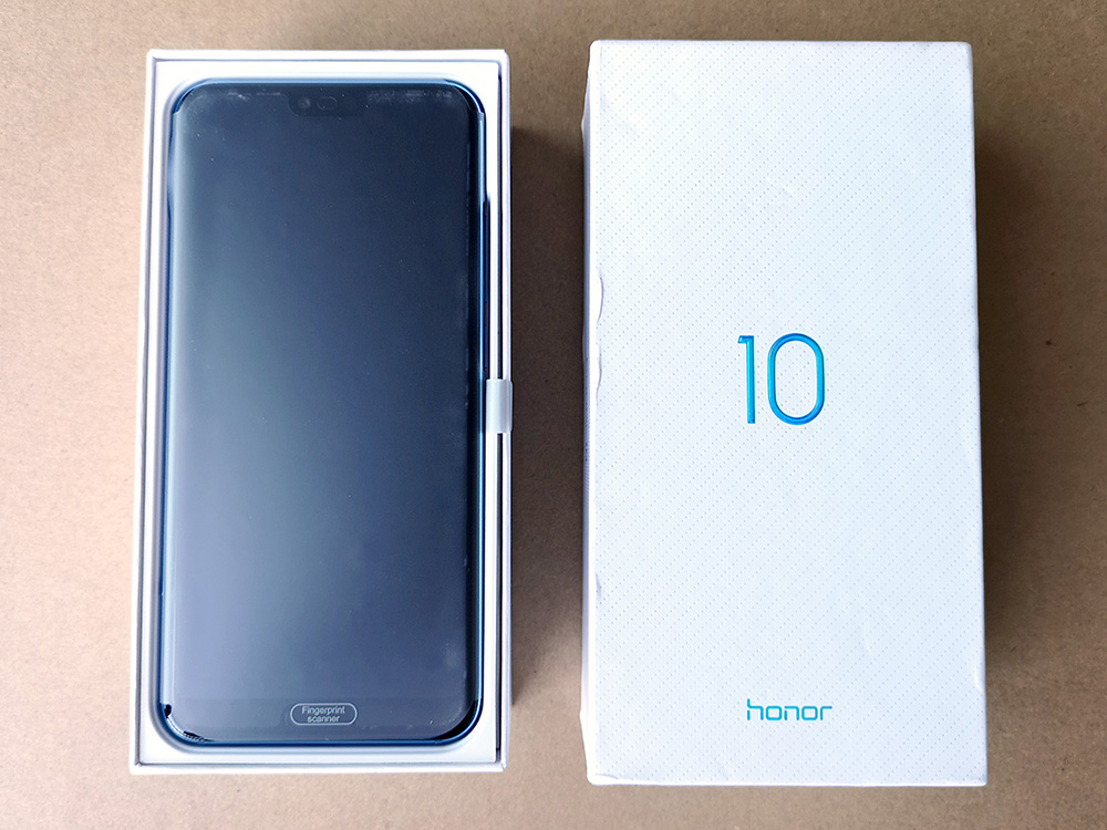 Huawei Honor 10 開封