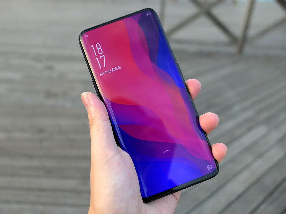 OPPO Find X ディスプレイ