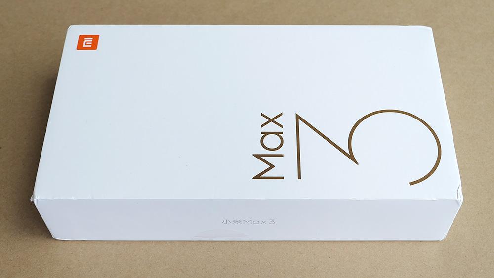 Xiaomi Mi Max 3 パッケージ