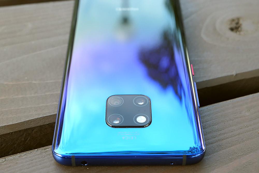 Huawei Mate 20 Pro 背面カメラ