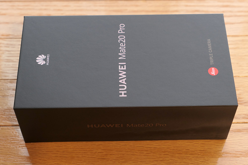 Huawei Mate 20 Pro パッケージ