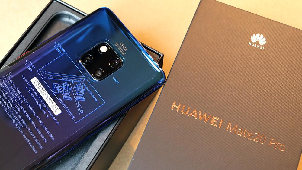 Huawei Mate 20 Pro 開封