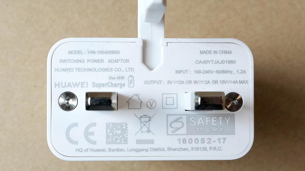 Huawei Mate 20 Pro USB充電器